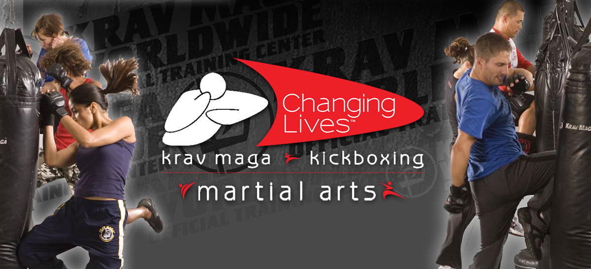 Changing Lives Krav Maga image of people kicking