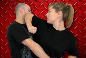 Krav Maga woman elbow 280x190 Krav Maga Training for Self Defense