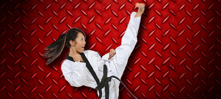 Krav Maga woman kick A History of Taekwondo
