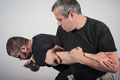 Krav Maga arm hold Military & Law Enforcement