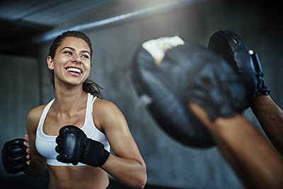Krav workout punching Learn Krav Maga For Fitness and Security