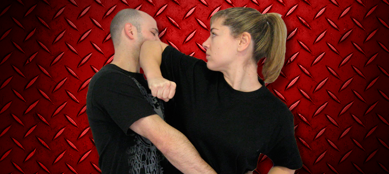 Krav Maga woman elbow Krav Maga Training for Self Defense